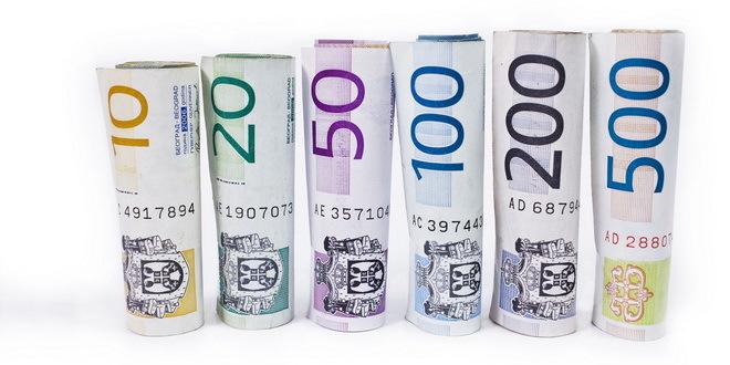 dinari novac pare