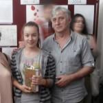 Клаудија Барна добила награду на ликовном конкурсу Црвеног крста Србије