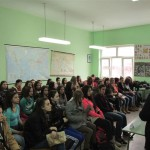 Панел дискусија СТОП насиљу над женама у средњој школи у Тителу