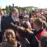 Премијер Александар Вучић посетио привредно газдинство Ћирић Aгро МЂЖ у Тителу