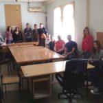 Ученички парламент СТШ Милева Марић Тител посетио полицијску станицу у Тителу