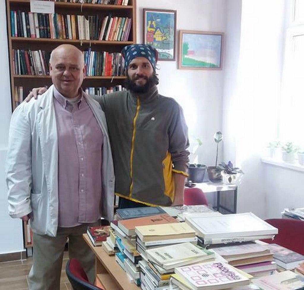 jovan radivojevic donacija knjiga biblioteka titel