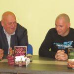 Романи Јаничар и Устаник представљени у библиотеци Стојан Трумић Тител