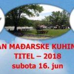Дан мађарске кухиње Тител 2018