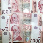 Просечна зарада мања за 3.000 динара