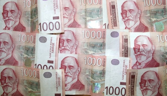 dinari prosecna zarada