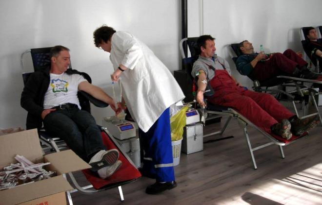 davanje krvi biblioteka zabalj