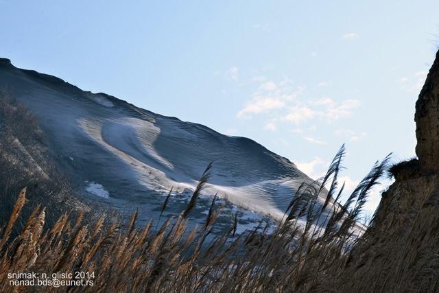 titelski breg vetar sneg