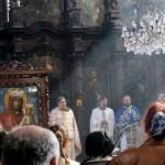 Обновљена чувена икона Пресвете богородице тителске