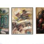 Изложба слика у галерији библиотеке у Жабљу