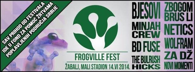 frogville fest zabalj 2014