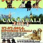 Национална изложба паса свих раса ЦАЦ Жабаљ 2014