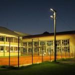 Засветлели рефлектори у дворишту ОШ Светозар Милетић Тител