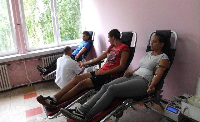 sajkasani mosorincani akcija dobrovoljnog davanja krvi