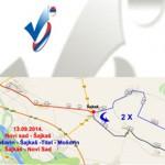 Бициклистичка трка Кроз Војводину 13. и 14. септембра