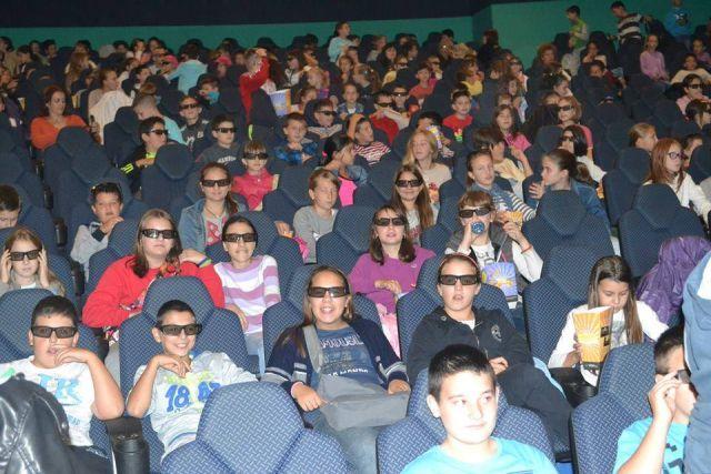bioskop arena osnovci zabalj