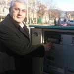 Председник општине Тител пустио у рад семафор у Шајкашу