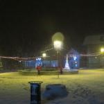 Снег у Тителу покрио Парадни трг