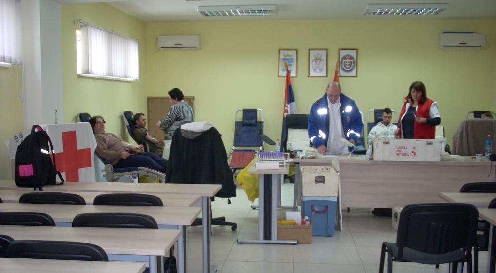 dobrovoljno davanje krvi titel