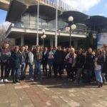 Ученици СТШ Милева Марић Тител посетили Аеродром Никола Тесла, Музеј ваздухопловства и Сајам туризма у Београду