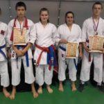 Четири медаље за Карате клуб Борац 021 Шајкаш