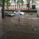 Обилна киша поплавила улице у Новом Саду