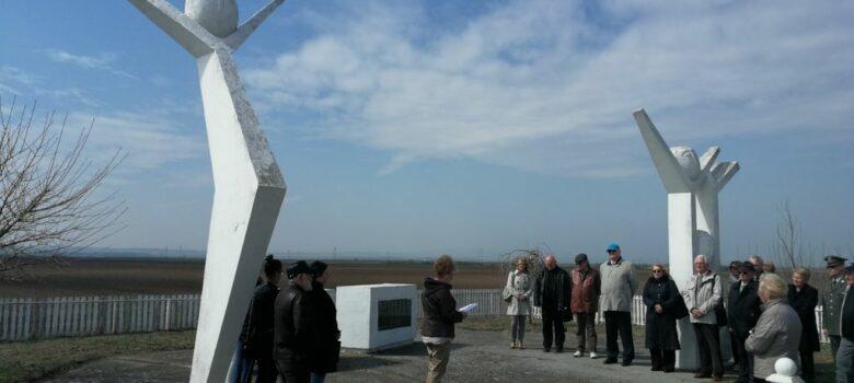 polaganje venaca spomenik pilotima vilovo
