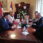 Министар за рад, запошљавање, борачка и социјална питања Зоран Ђорђевић посетио Општину Тител