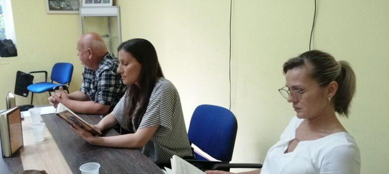 Dragana Mladenov knjizevno vece biblioteka Titel