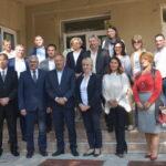 Министар Шарчевић посетио Тител, Чуруг и Бачки Јарак