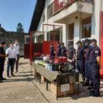 Локална самоуправа обезбедила нову опрему за Ватрогасну станицу у Жабљу
