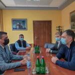 Заменик покрајинског секретара за енергетику, грађевинарство и саобраћај у посети Жабљу