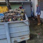 Чишћење дивље депоније у центру Вилова