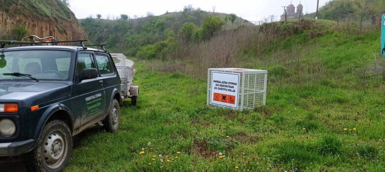 Kontejneri-za-sakupljanje-opasnog-ambalažnog-otpada-SRP-Titelski breg